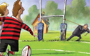 moving goalpost