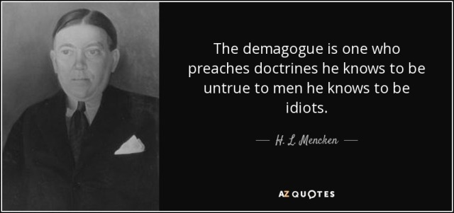 demagogue-h-l-mencken