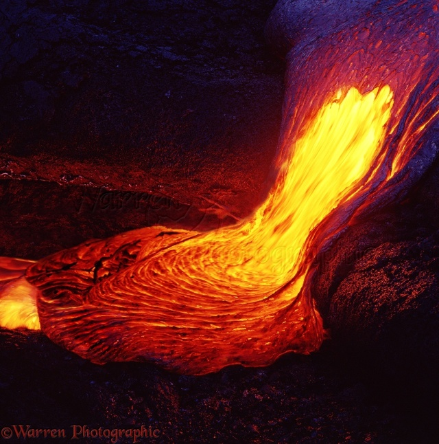 Molten Lava on Hawaii