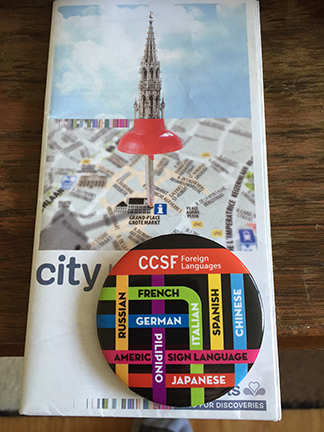 CCSF Foreign Languages Pin