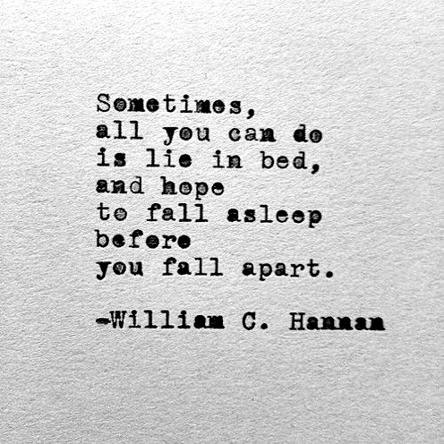 Fall apart_William C Hannan